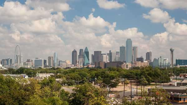 Dallas City Skyline, Dallas, Texas, USA Royalty-free stock video