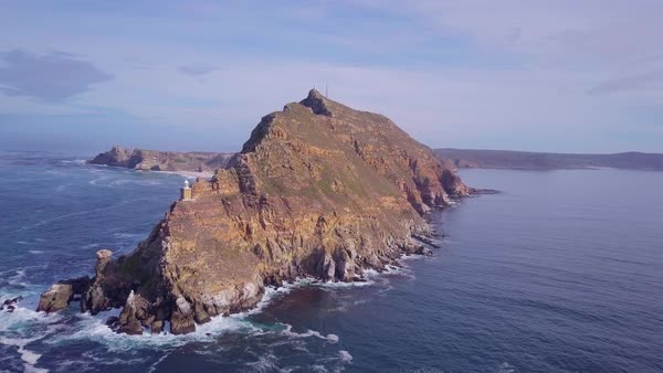 Long shot of Cape of Good Hope Royalty-free stock video