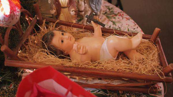 Baby jesus Royalty-free stock video