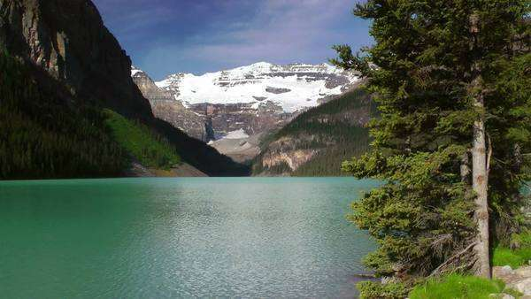 Lake Louise, Banff National Park, Canada Royalty-free stock video