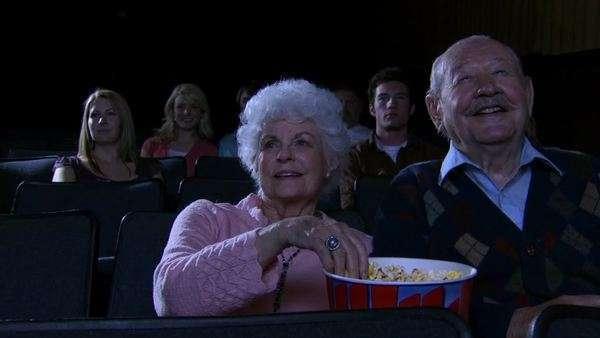 Audience mature movie