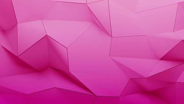 Abstract wall of planes moving in organic way. The movement is perfectly looped. Pink version. Royalty-free stock video