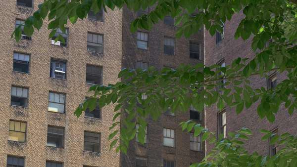 A typical New York style apartment building. Royalty-free stock video