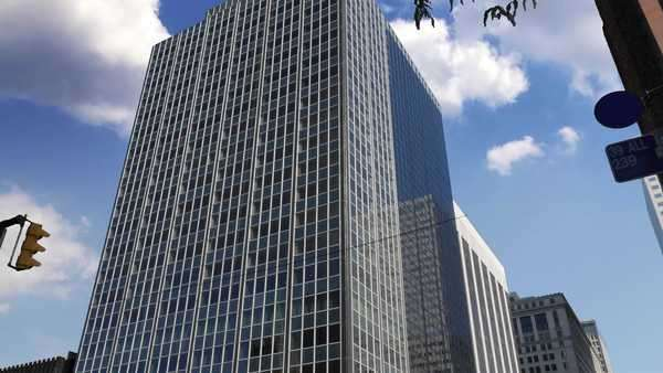 A typical office building establishing shot. Royalty-free stock video
