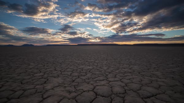 Alvord Desert, motion controlled timelapse taken during sunrise. Rights-managed stock video