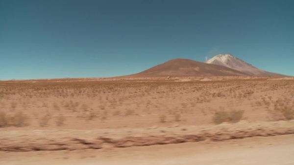 Off-road trip in the Andes of Bolivia Royalty-free stock video