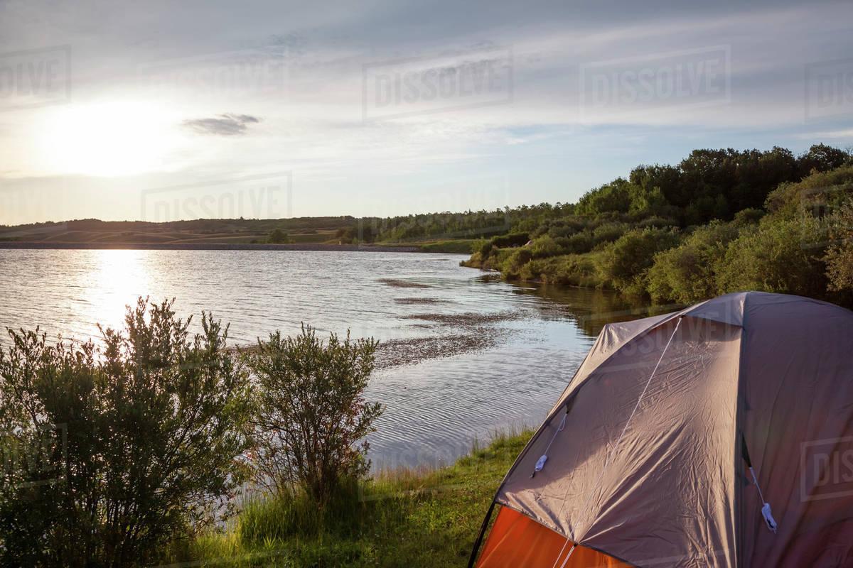 free camping alberta
