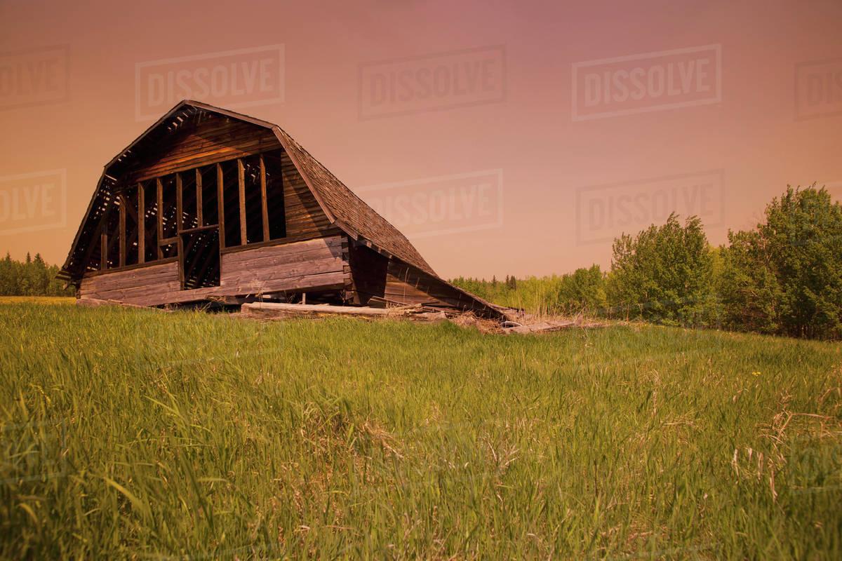 The Fallen Barn