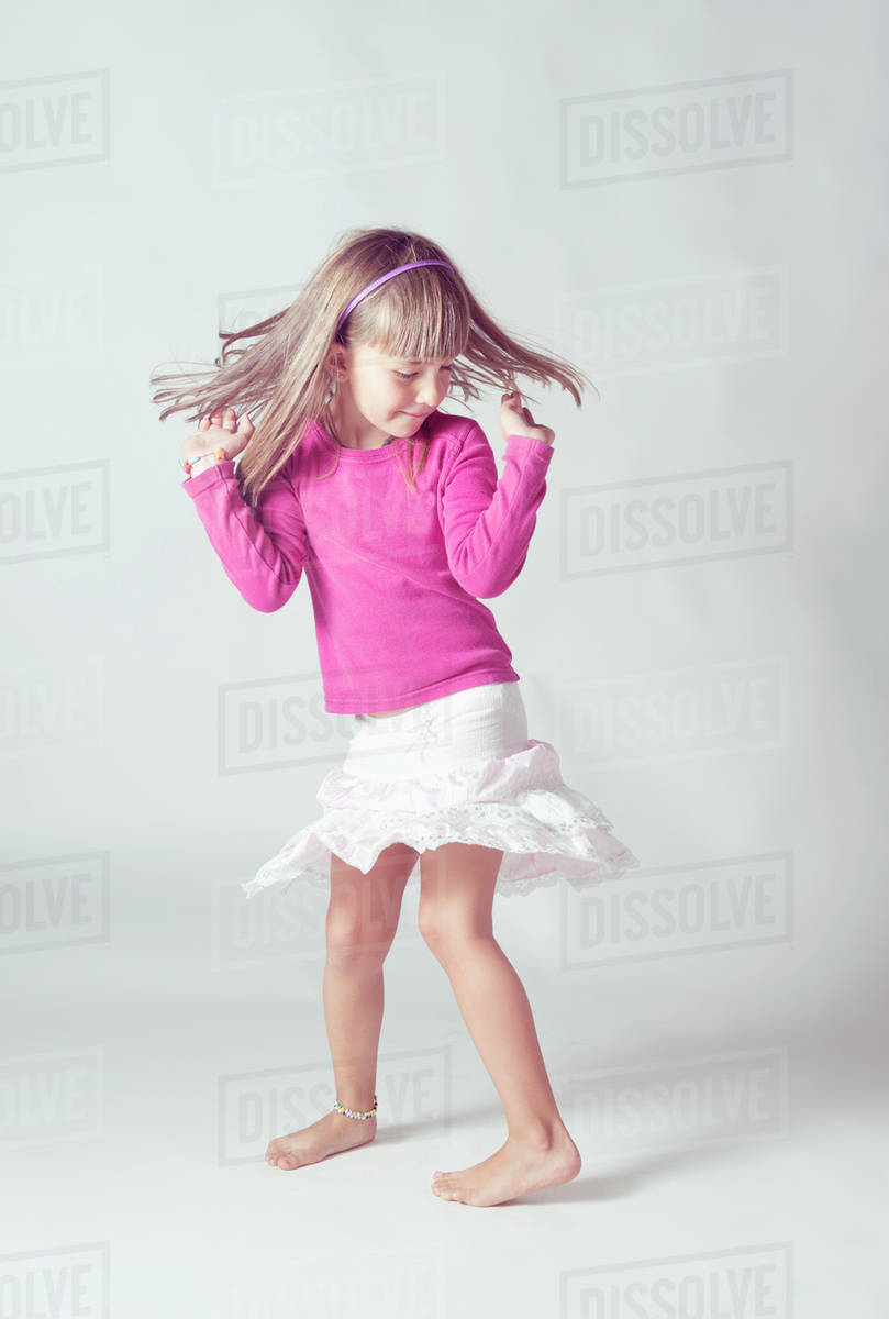 ffabed68d5c0 A young girl dancing Malaga andalusia spain - Stock Photo - Dissolve