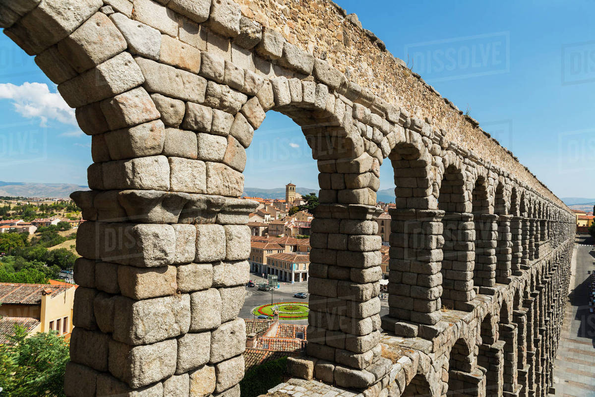 Segovias Aqueduct Is One Of The Architectural Symbols Of Spain
