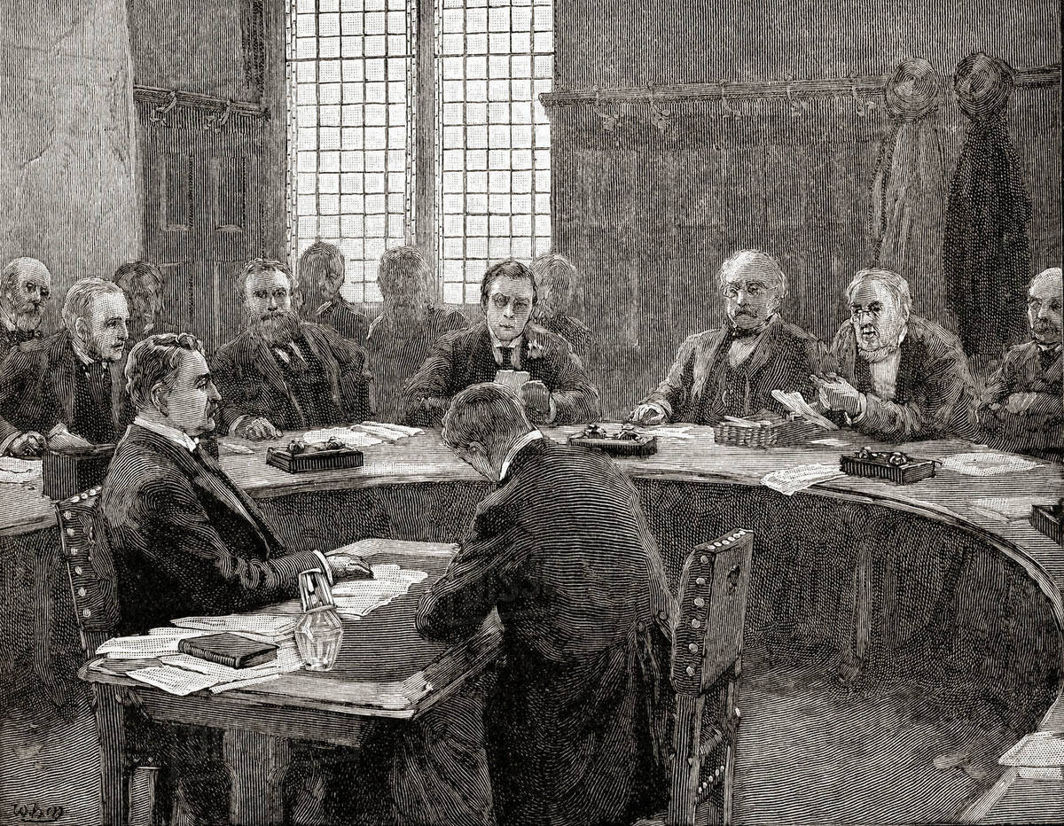 best loved biggest discount best website Cecil Rhodes speaking at the South Africa Committee in 1897. D869_79_610