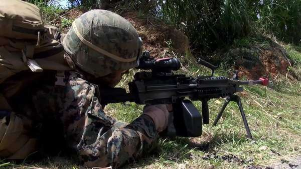 Us Marines With Kilo Company Battalion Landing Team 3rd Battalion