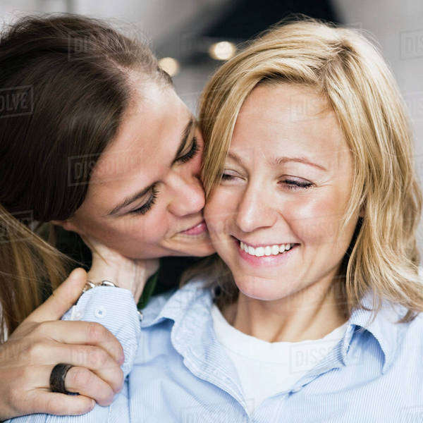 Happy lesbian coulpe Royalty-free stock photo