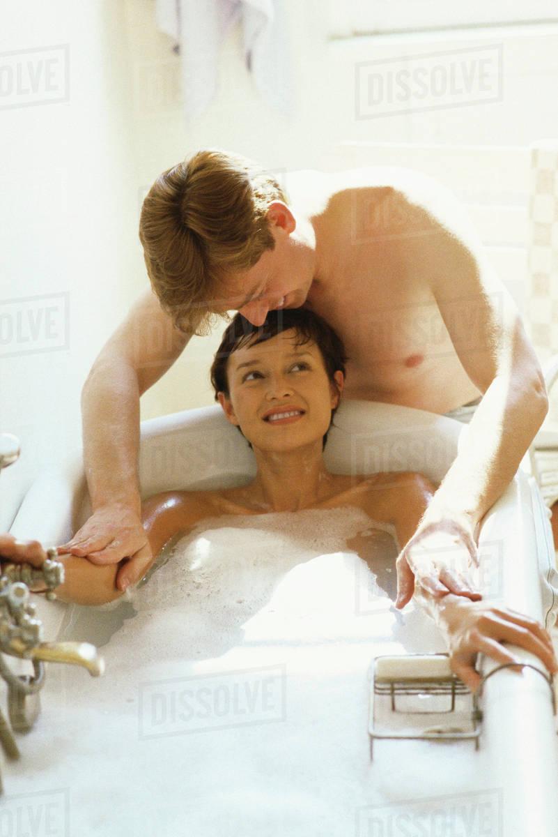 Men sucking nude tits
