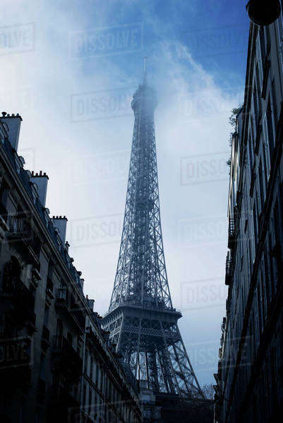Eiffel Tower, Paris, France Royalty-free stock photo