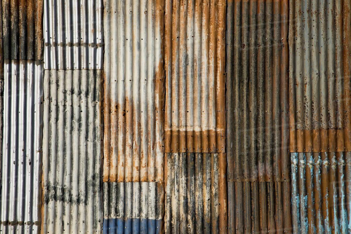 Rusted Corrugated Metal